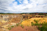 Mining Area of the Great Copper Mountain in Falun, Sweden