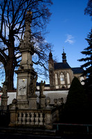 Kutná Hora: Historical Town Centre with the Church of St Barbara and the Cathedral of Our Lady at Sedlec, Sedlec Ossuary, Czech Republik