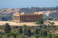 Archeologic Area of Agrigento, Sicily, Italy