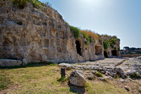 Greek Theatre + caves, Syracuse, Sicily, Italy