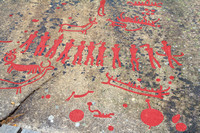 Rock Carvings in Tanum,  Sweden