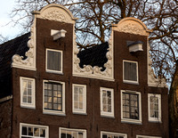 Facades,17th century Canals of Amsterdam