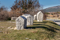 Stecci Medieval Tombstone Graveyard