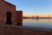Gardens of Menara, Marrakesh, Morocco