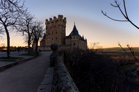 Alcazar of Segovia,  Old Town of Segovia and its Aqueduct, Spain