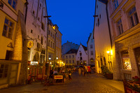 Lower Town, Tallinn, Estonia